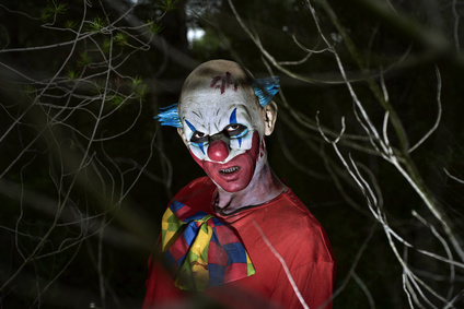 Horror-Clown streift durch Bergisch Gladbach